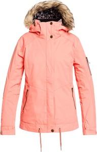 Różowa kurtka Roxy krótka