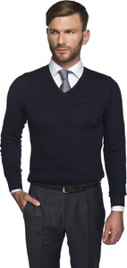Czarny sweter recman