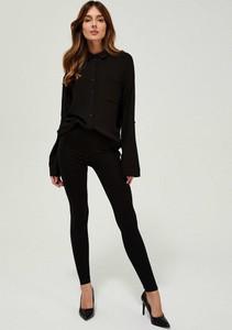 Czarne legginsy Moodo