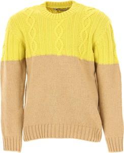 Żółty sweter Dondup z wełny