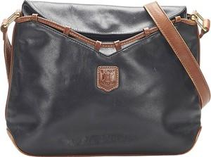 Czarna torebka Céline ze skóry