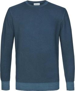 Niebieski sweter PROFUOMO w stylu casual