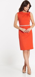 Pomarańczowa sukienka Marcelini