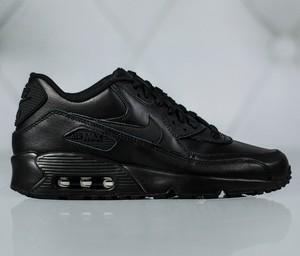 competitive price 5df1b bcc6c Czarne buty sportowe Nike na koturnie sznurowane