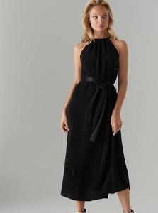 Czarna sukienka Mohito bez rękawów maxi