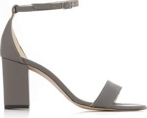 Sandały Zapato na obcasie z zamszu z klamrami