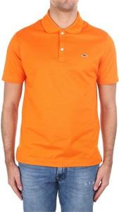 Pomarańczowa koszulka polo Paul & Shark w stylu casual