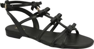Sandały Michael Kors ze skóry w stylu casual z klamrami