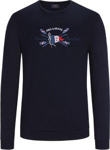 Czarna bluza Paul & Shark z bawełny