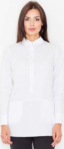 Koszula Figl z bawełny z kołnierzykiem w stylu casual