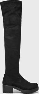 Czarne kozaki Answear
