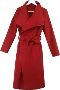 Czerwony płaszcz METKA