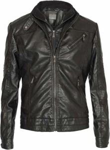 Czarna kurtka Yes Zee w stylu casual