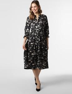 Czarna sukienka Scotch & Soda z długim rękawem koszulowa