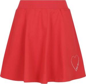 Spódnica Love Moschino mini w stylu casual