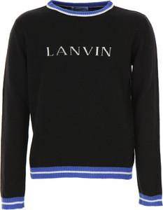 Czarny sweter Lanvin z wełny