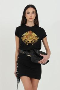 T-shirt Versace Jeans z krótkim rękawem w młodzieżowym stylu