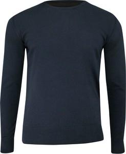 Granatowy sweter Just yuppi