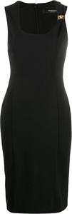 Czarna sukienka Versace