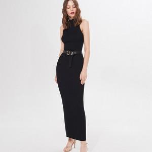 Czarna sukienka Mohito maxi