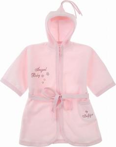 Różowy szlafrok dziecięcy Sofija