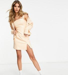 Brązowa sukienka Fila mini