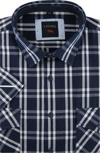 Koszula Laviino w stylu casual z klasycznym kołnierzykiem z tkaniny