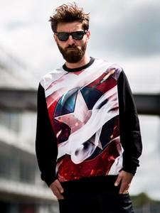 Bluza Marvel z nadrukiem