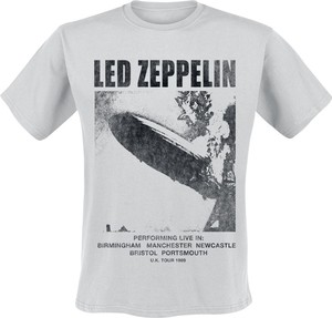 T-shirt Led Zeppelin z krótkim rękawem