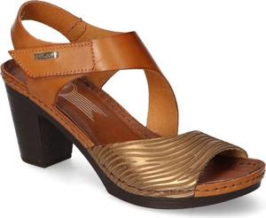 Sandały Lemar ze skóry