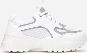 Sneakersy Multu sznurowane na platformie