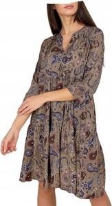 Sukienka Unisono z długim rękawem