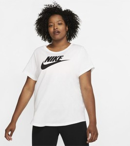 T-shirt Nike z krótkim rękawem z okrągłym dekoltem w sportowym stylu