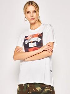 T-shirt G-Star Raw w młodzieżowym stylu z okrągłym dekoltem z krótkim rękawem