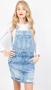 Niebieska spódnica Olika z jeansu