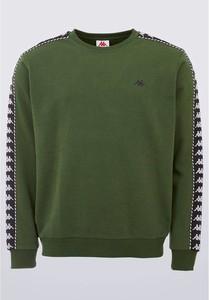Zielona bluza Kappa z bawełny
