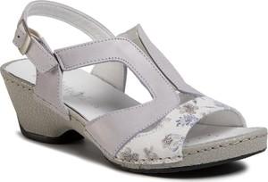 Sandały Comfortabel z zamszu