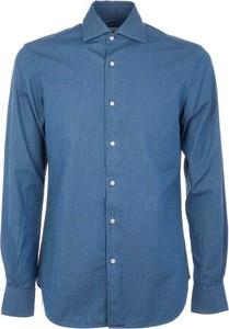 Niebieska koszula Aspesi