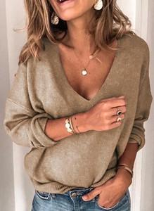 Sweter Sandbella w stylu boho