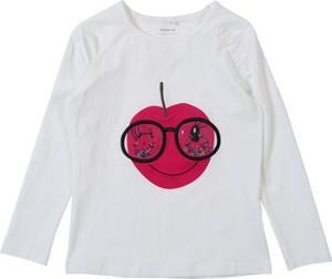 Bluzka dziecięca Name it z bawełny