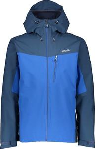 Niebieska kurtka Regatta w sportowym stylu