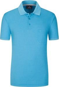 Koszulka polo Ragman w stylu casual z bawełny