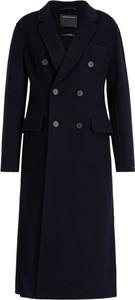 Granatowy płaszcz Sportmax Code
