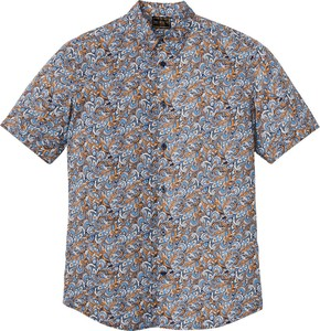 Koszula bonprix bpc selection w młodzieżowym stylu z krótkim rękawem