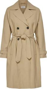 Brązowy płaszcz Only