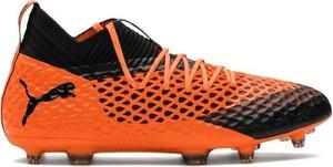 Pomarańczowe buty sportowe Puma w sportowym stylu