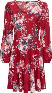 Sukienka bonprix BODYFLIRT w stylu casual z dżerseju z okrągłym dekoltem