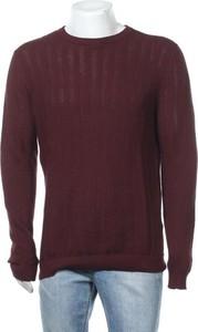 Czerwony sweter Antony Morato z okrągłym dekoltem w stylu casual
