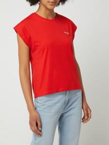 Bluzka Pepe Jeans z krótkim rękawem z bawełny