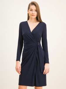 Sukienka Ralph Lauren mini z długim rękawem